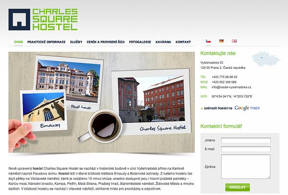Hostel Praha - Vyšehradská