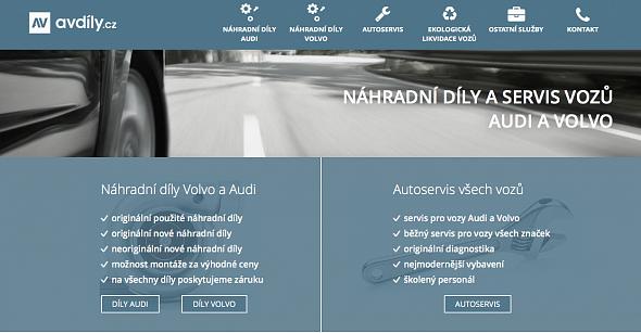 Náhradní díly Audi a Volvo
