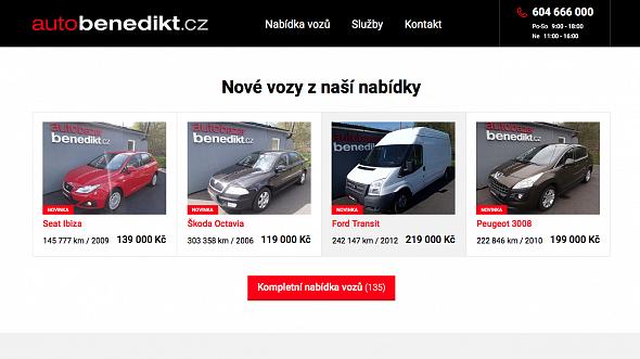 Autobazar AutoBenedikt.cz