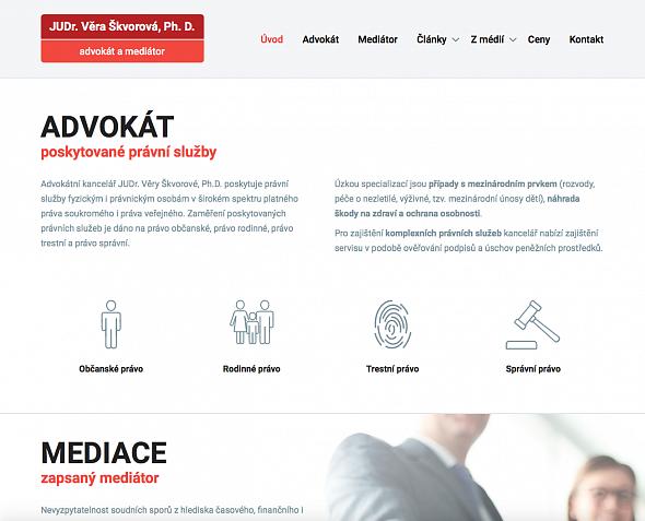 JUDr. Věry Škvorová, Ph.D. - Advokát a Mediátor