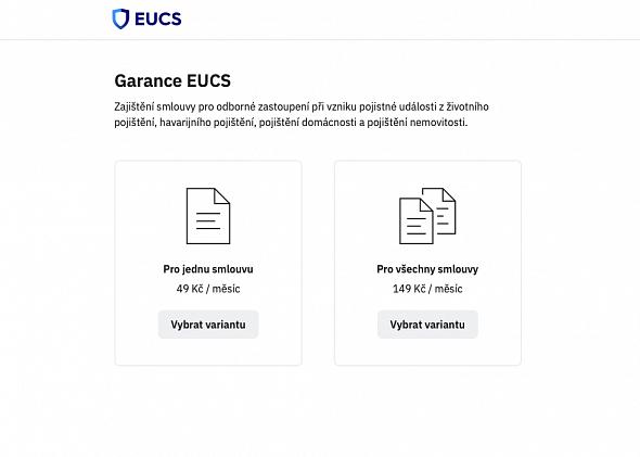 Garance EUCS - systém pro sjednávání smluv